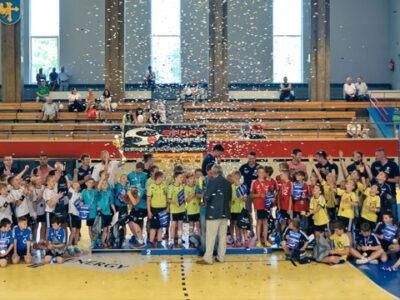 mini handball liga opole