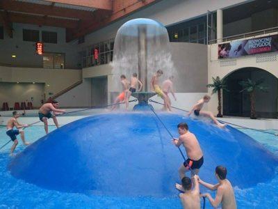 zimowy oboz sportowy-park wodny